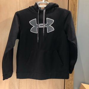 Under Armour Hoodie Black size small